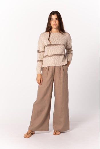 STRIPPED PULLOVER